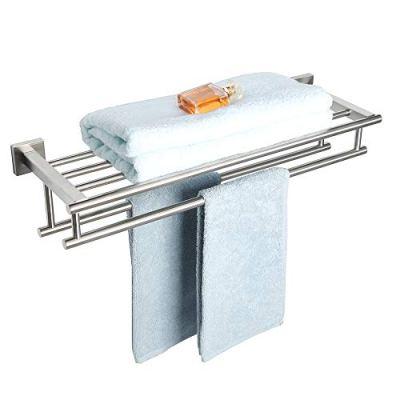 Alise GZ8000-LS Bathroom Lavatory Towel Rack Towel Shelf