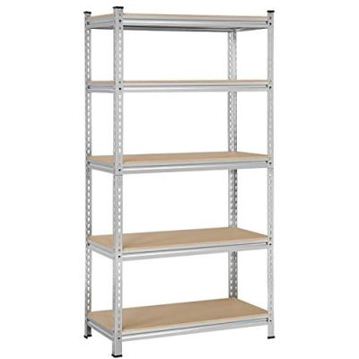 YAHEETECH 5-Shelf Storage Shelves