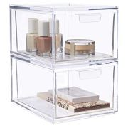 Audrey Stackable Cosmetic Organizer Drawers