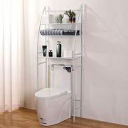 Bathroom Organizer Over-The-Toilet Storage 3-Shelf