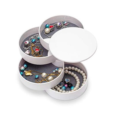 Jewelry Organizer, Small Jewelry Box Earring Holder for Women