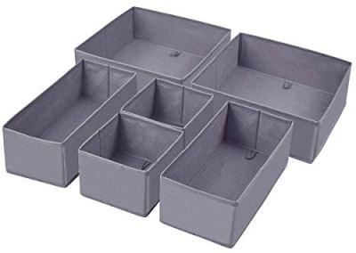 Homyfort Foldable Cloth Storage Box Closet Dresser