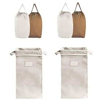 MCleanPin Double Laundry Hamper with 4 Removable Laundry Bags
