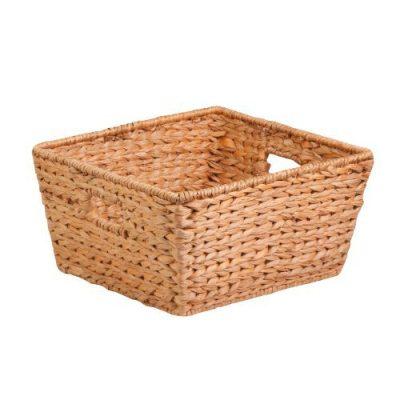 Honey-Can-Do Tall Water Hyacinth Basket Bin, Large