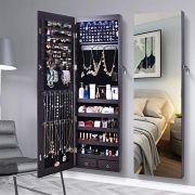 Armoire Organizer Mirror Jewelry Cabinet Full Screen
