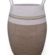 Thickened Collapsible Tall Rope Dirty Clothes Basket