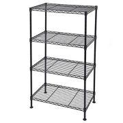 4-Shelf Adjustable Heavy Duty Storage Shelving Unit