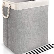Laundry Hamper Built-in Lining with Detachable Brackets