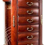 Mahogany Jewelry Chest Jewelry Box