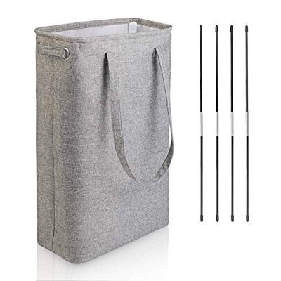 DYD Slim Laundry Basket with Handles Collapsible