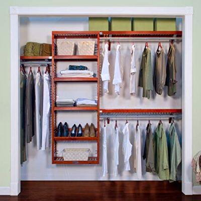 John Louis Home 12-Inch Deep Premier Closet Organizer