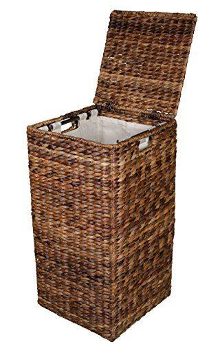 BIRDROCK HOME Seagrass Laundry Hamper