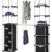 Whitmor Deluxe Double Rod Adjustable Closet