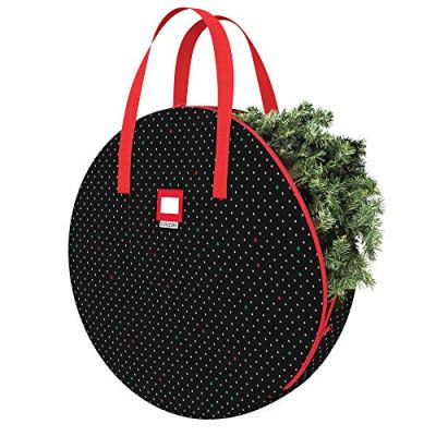 Christmas Wreath and Garland Bag with Durable Zippered