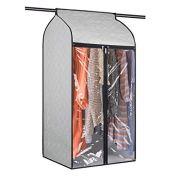 Univivi Hanging Garment Bags 43 inch Organizer Storage