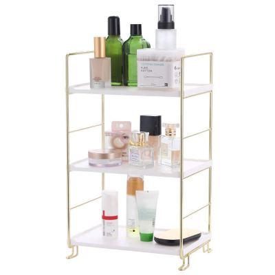 3-Tier Bathroom Countertop Organizer,Freestanding Stackable Organizer