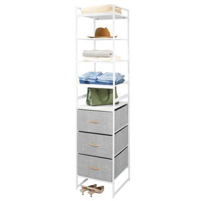 mDesign Modular Closet Organizer System
