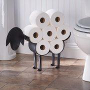 ART & ARTIFACT Sheep Toilet Paper Roll Holder