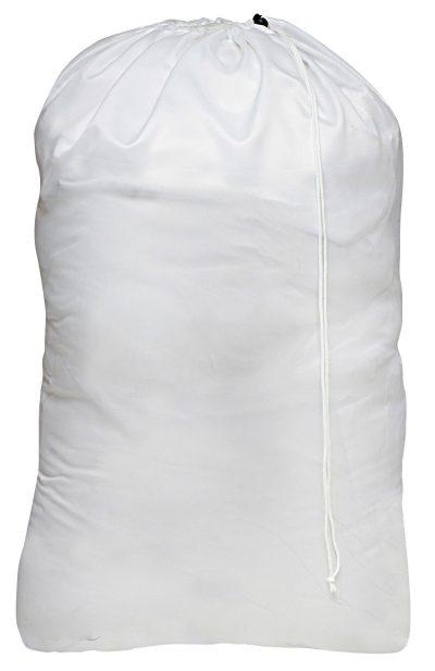 Nylon Laundry Bag - Locking Drawstring Closure and Machine Washable.