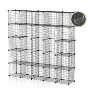 GEORGE&DANIS Wire Storage Shelf Cube Metal
