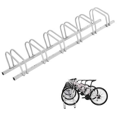 Houseware 6 Bicycle Floor Parking Adjustable Storage