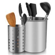 Kitchen Utensils Holder Organizer for Forks, Spoons