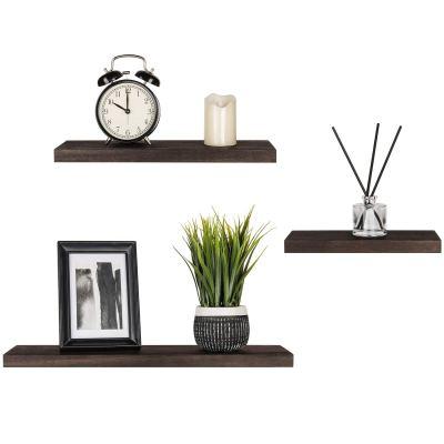 Wood Wall Shelf Rustic Modern Shelf