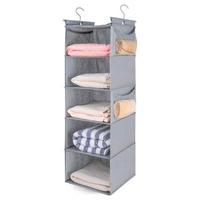 MAX Houser 5 Shelf Hanging Closet Organizer,Space Saver