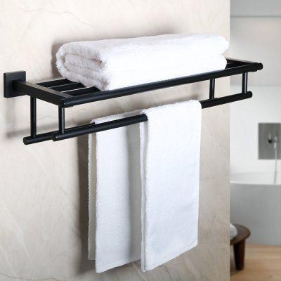 Alise Bathroom Lavatory Towel Rack Towel Shelf