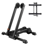 Foldable Floor Bike Stand Portable Bicycle Storage