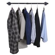 """OROPY Industrial Pipe Clothes Rack 38.4"""""""