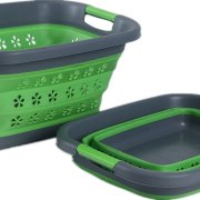 Roaming Cooking Collapsible Plastic Laundry Basket