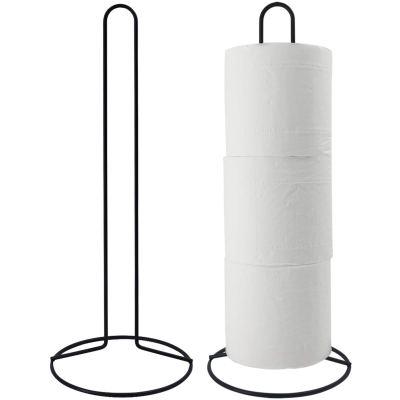 TOPSKY Toilet Paper Holder, Free Standing Toilet Tissue Paper Roll