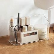 SUNFICON Makeup Tray Organizer Bathroom Cabinet Cosmetic Storage