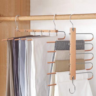 Magic Pants Hangers, Space Saving Closet Hangers