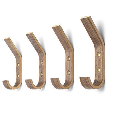 Modern Wooden Coat Wall Hooks