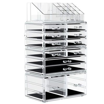 Organizer Cosmetic Storage Drawers and Jewelry Display Box