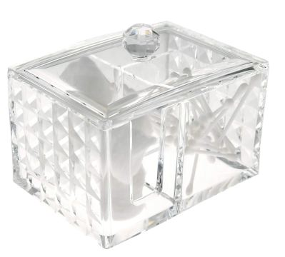 Makeup Organizers and Storage Box with Lid