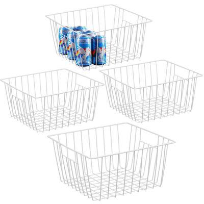 iPEGTOP Refrigerator Chest Freezer Baskets