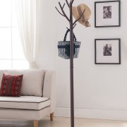 Kings Brand Bronze - Finish Metal Hall Tree Coat & Hat Rack
