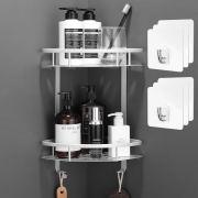 Corner Shower Caddy Storage Rack for Toilet, Shampoo