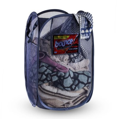 Laundry Basket Foldable and Portable Mesh Pop-Up