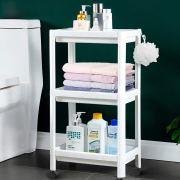 Flowmist 3 Tier Slim Rolling Organizer Storage Cart