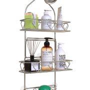 Upgraded! GeekDigg Bathroom Hanging Shower Head Caddy Organizer