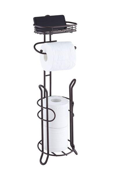 Heavyweight Toilet Tissue Paper Roll Storage Holder