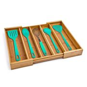 Classics Bamboo Expandable 5 Large Compartment