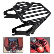 KOLEMO Black Detachable Adjustable Two Up Luggage