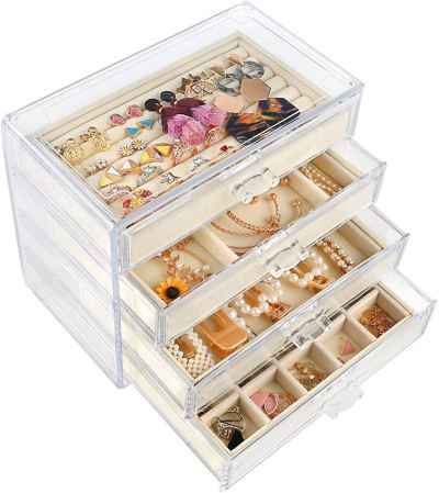 Jewelry Organizer for Earring Necklace Ring & Bracelet