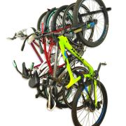 Bike Storage Rack, Holds 5 Bicycles