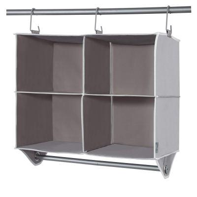 STORAGE MANIAC 4 Section Hanging Closet Organizer